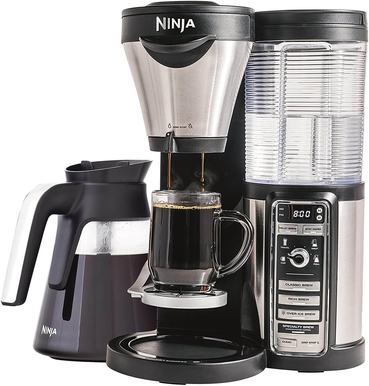 Ninja CF080Z Coffee Maker with Four Brew Sizes
