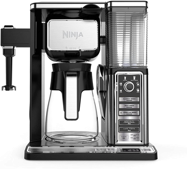 Ninja Coffee Bar CF091 Auto-IQ Programmable Coffee Maker Renewed