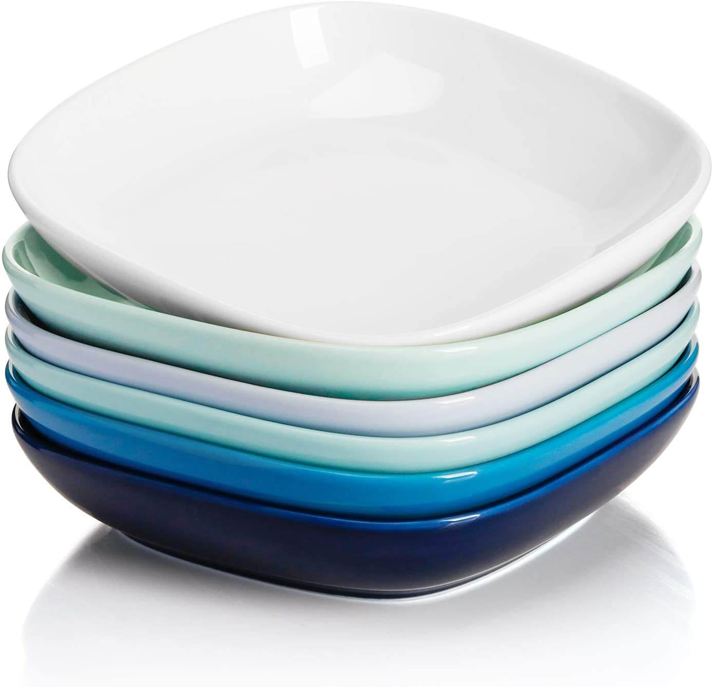 Sweese 121.003 Porcelain Square Salad Pasta Bowls