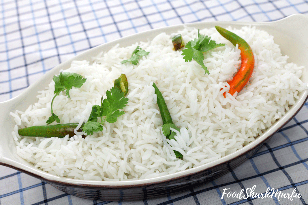 Basmati-rice-with-cilantro-and-chillis