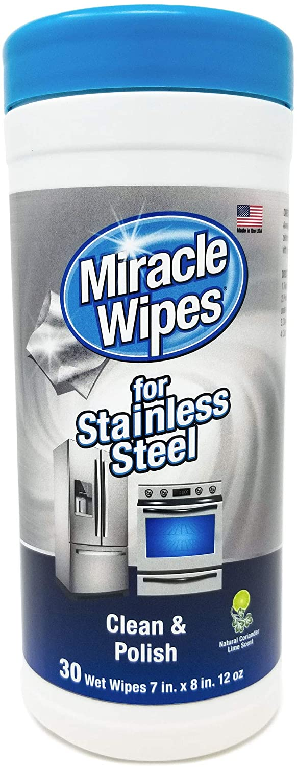 MiracleWipes for Stainless Steel Cleaning