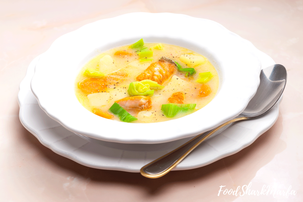 Potato-soup-with-salmon