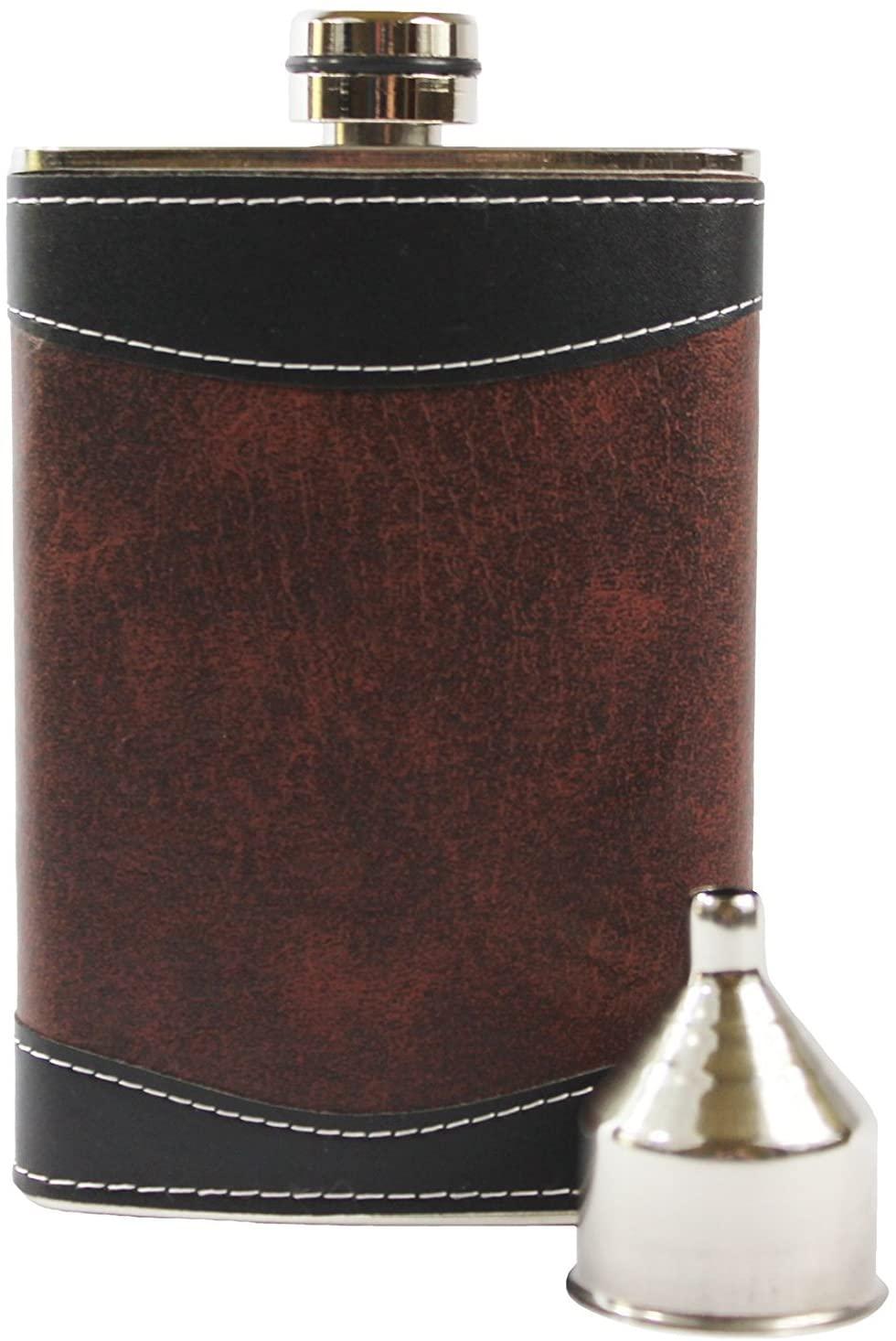 Primo Liquor Flasks Stainless Steel Primo Hip Flask Set