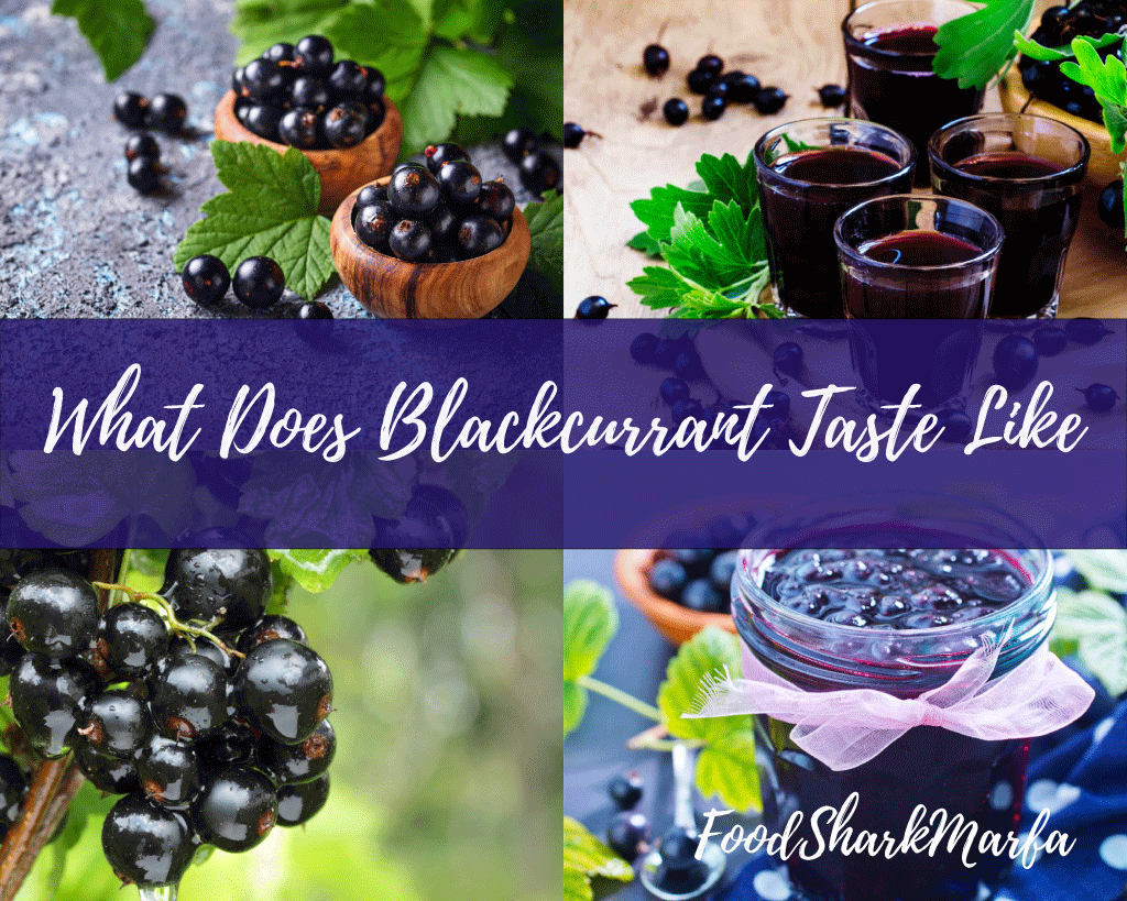 What Does Blackcurrant Taste Like