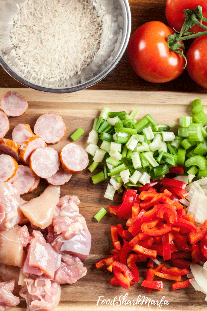 essentials-for-jambalaya-are-bell-peppers,-celery-and-onion