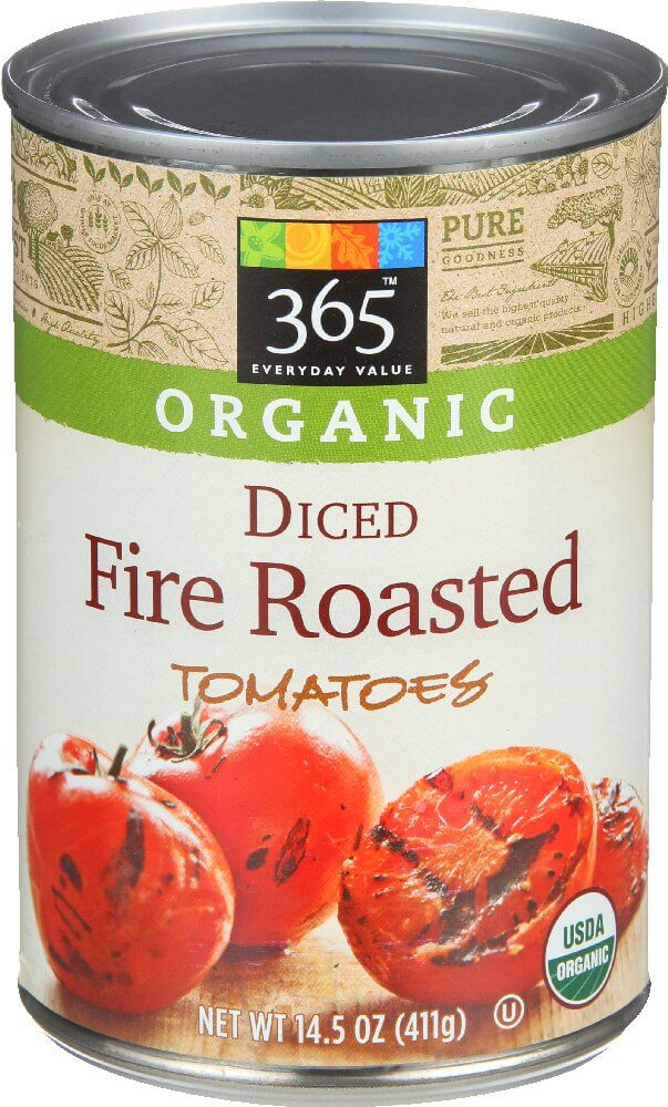 365 Everyday Value Organic Fire Roasted Diced Tomatoes