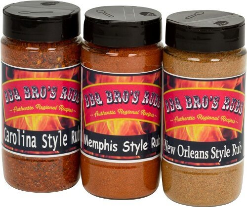 BBQ BROS RUBS {Southern Style} - Ultimate Barbecue Spices Seasoning Set