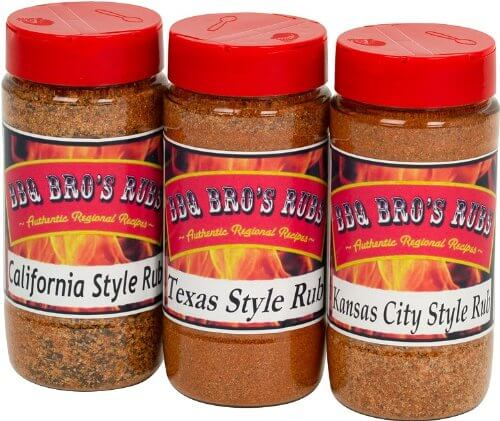 BBQ BROS RUBS {Western Style} - Ultimate Barbecue Spices Seasoning Set