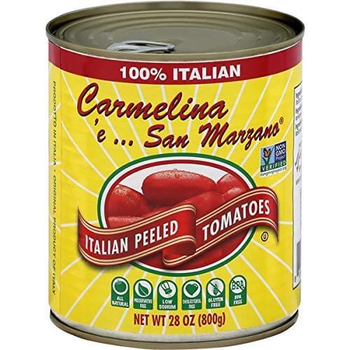 Carmelina 'e… San Marzano Italian Whole Peeled Tomatoes