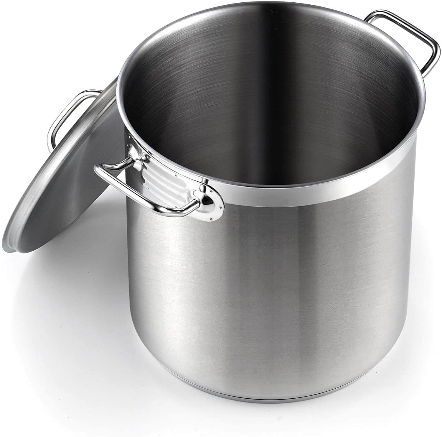 Cooks Standard Professional Grade Lid 11 Quart Stainless Steel Stockpot