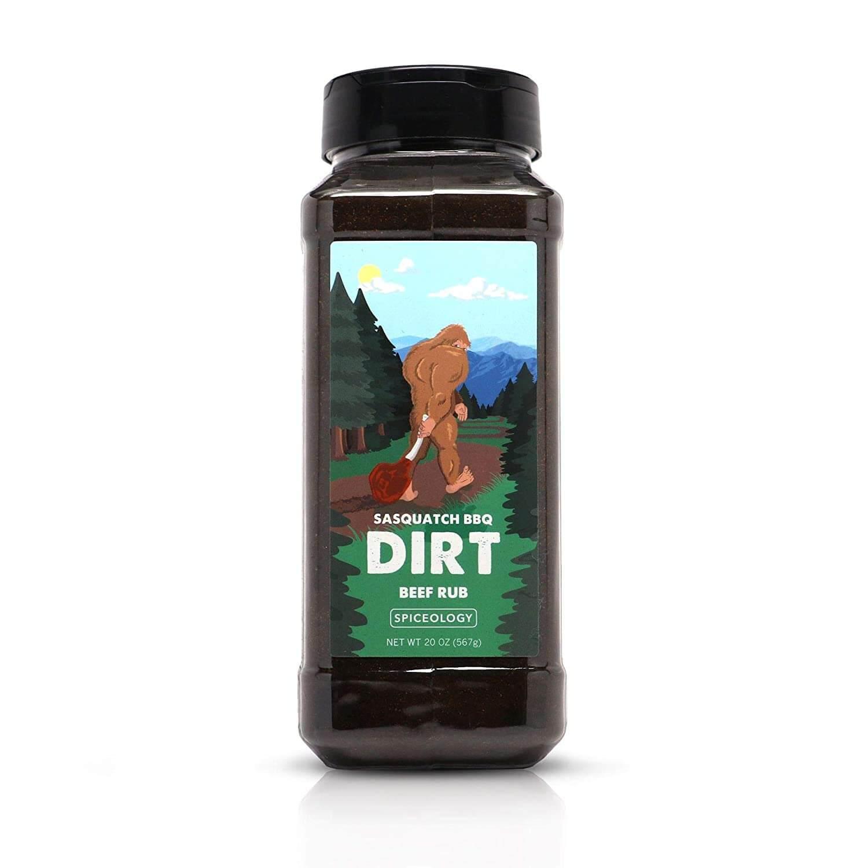Dirt - Sasquatch BBQ Espresso Chile Beef Rub
