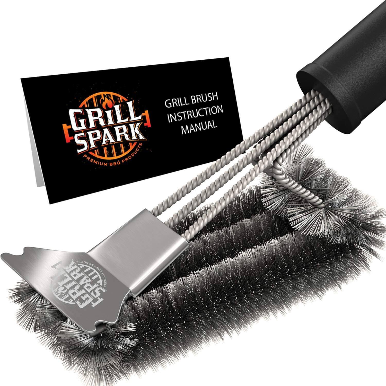Grill Spark Grill Brush and Scraper