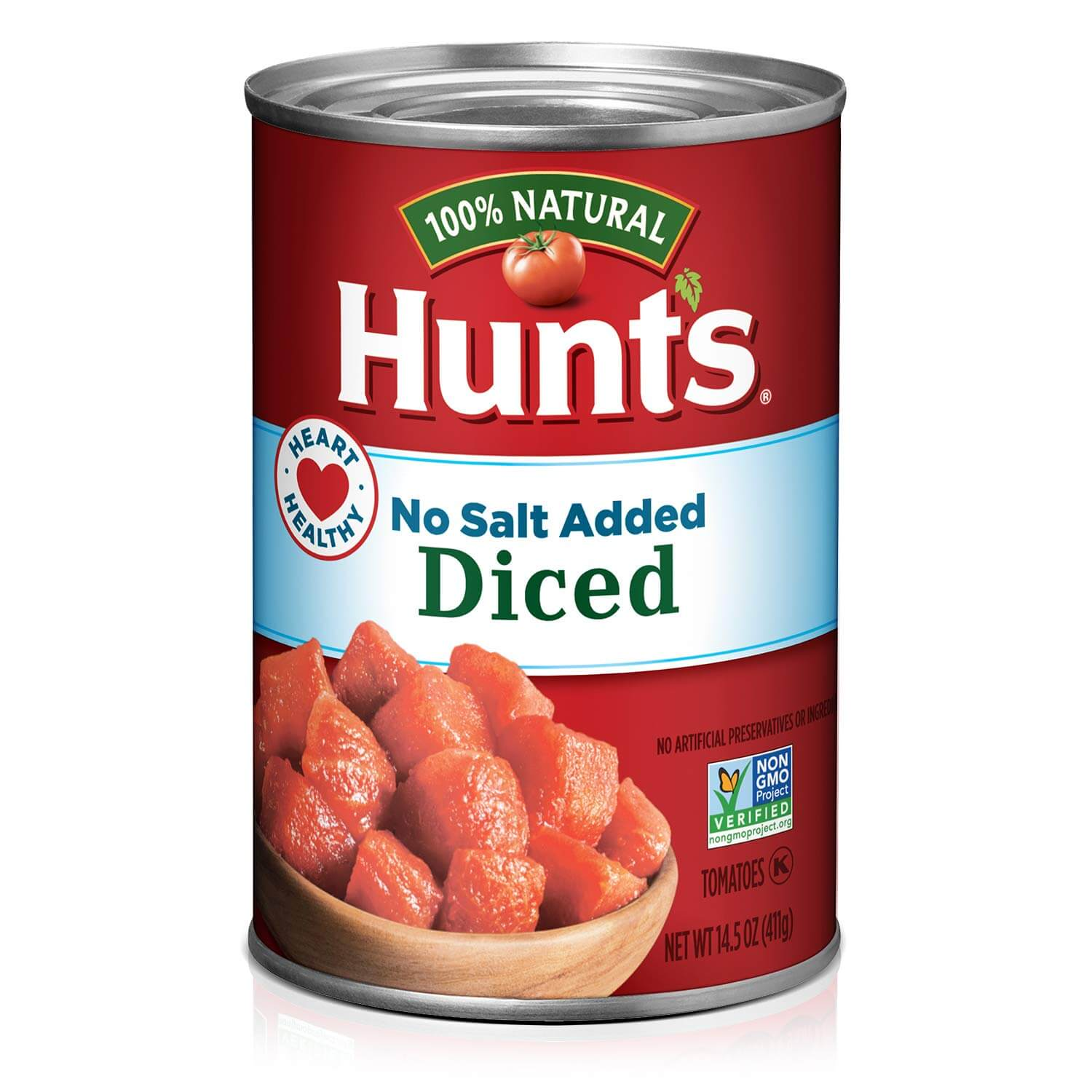 Hunt's Diced Tomatoes, No Salt Added