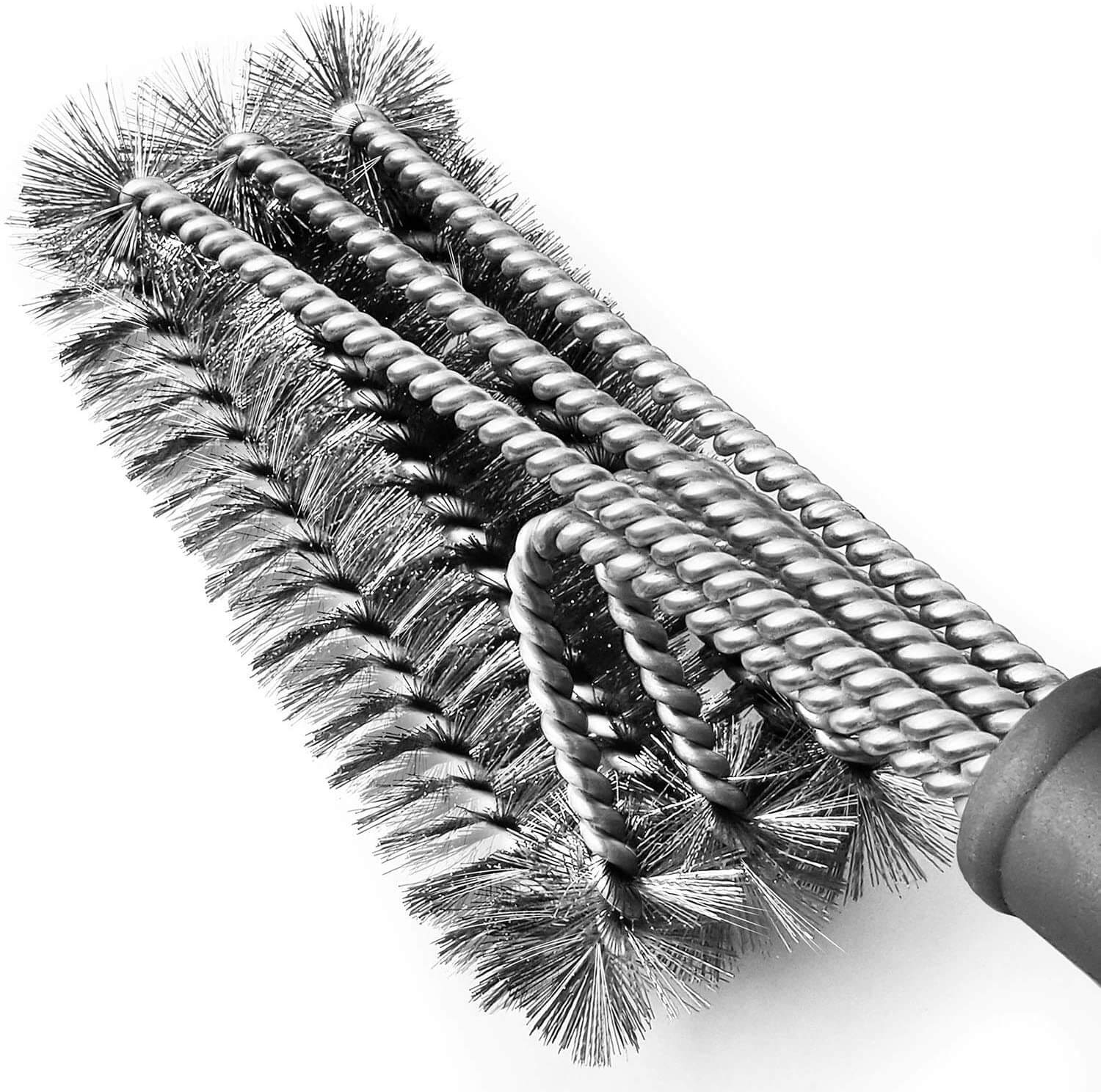 Tarvol BBQ Grill Brush Stainless Steel 18 Barbecue Cleaning Brush