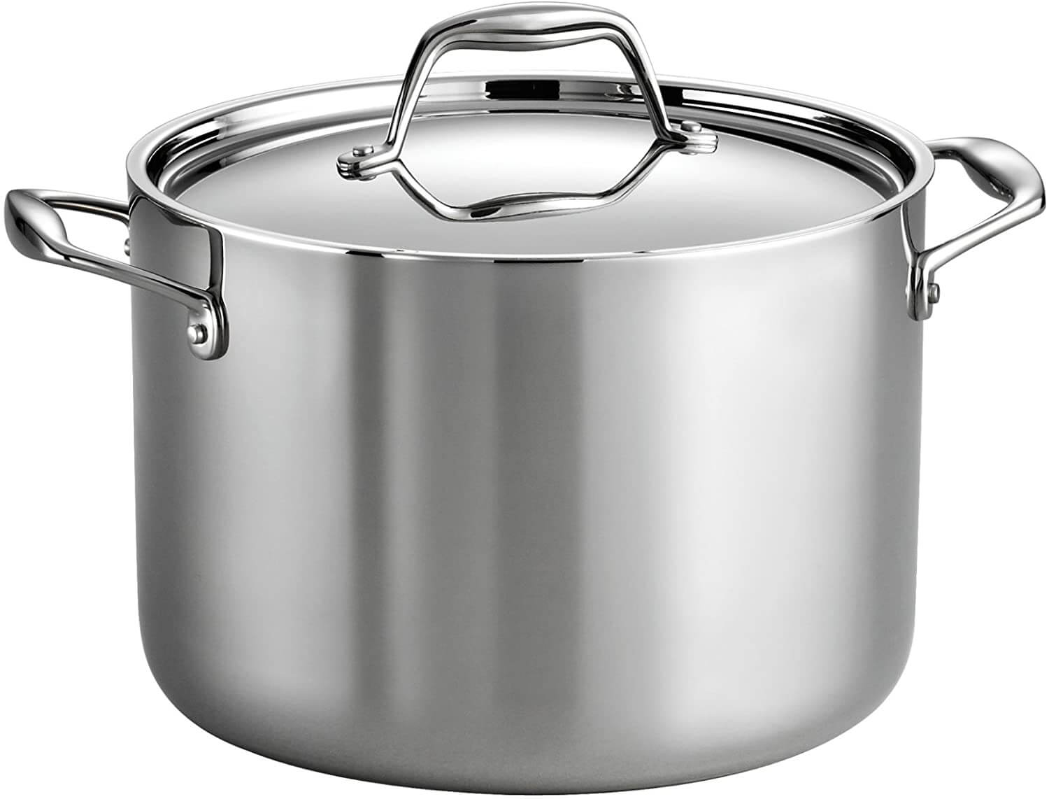 Tramontina 80116 041DS Gourmet Stainless Steel Stock Pot