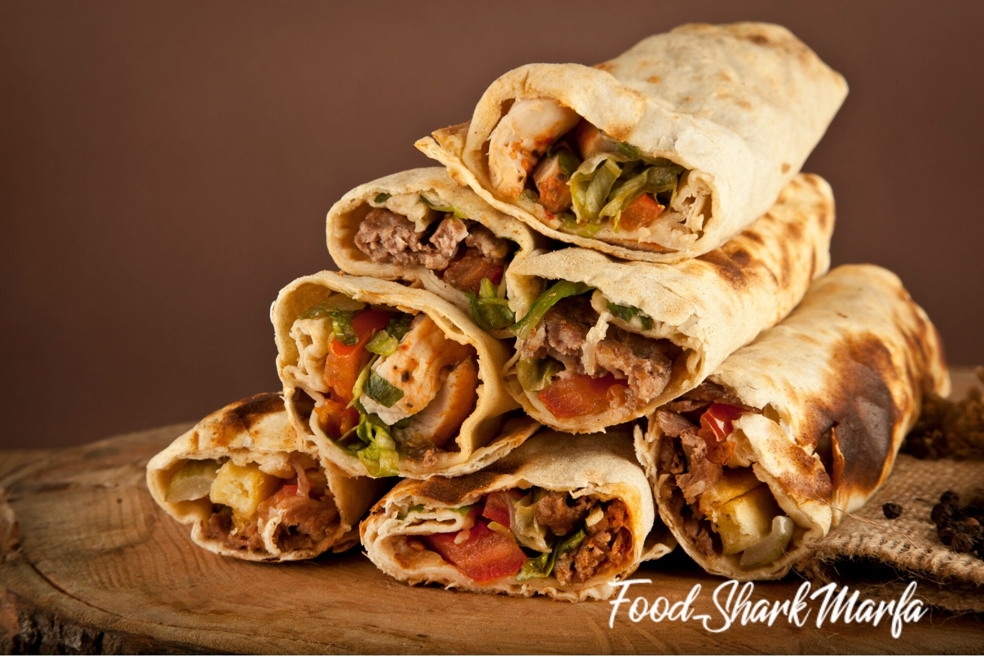Turkish shawarma