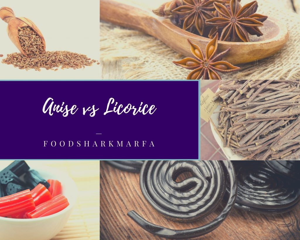 Anise vs Licorice