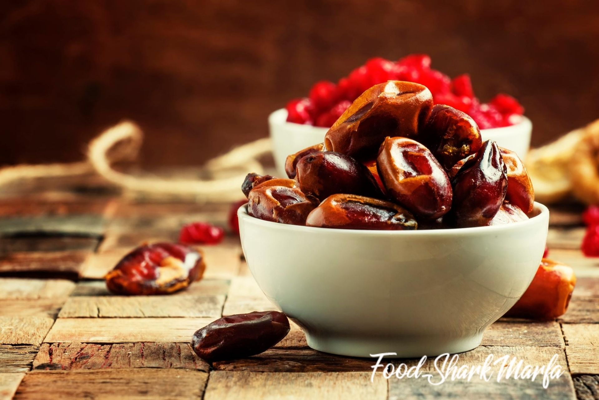Dried sweet dates