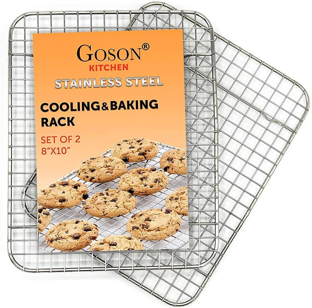 Goson Kitchen Stainless Steel Heavy Duty Metal Wire Cooling Rack