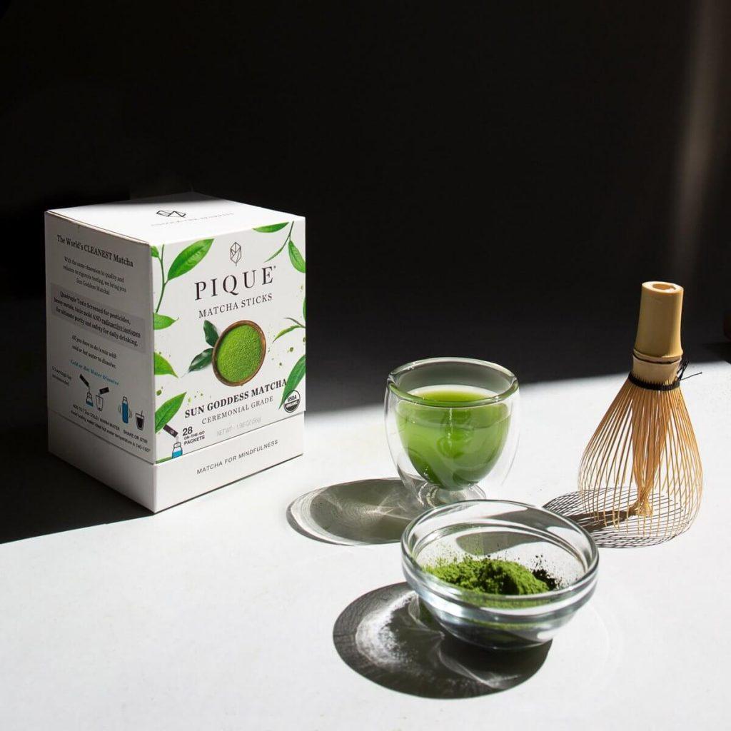 Pique Sun Goddess Matcha Green Tea Review