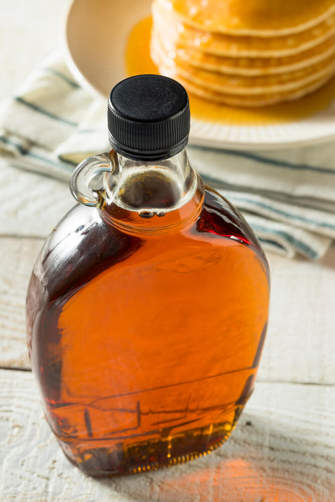Raw Organic Amber Maple Syrup