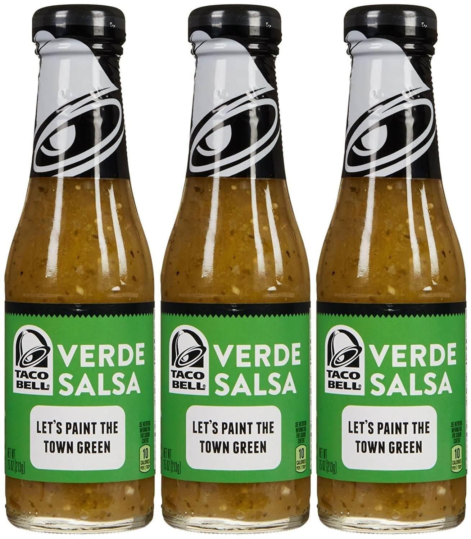 Taco Bell Verde Salsa Sauce