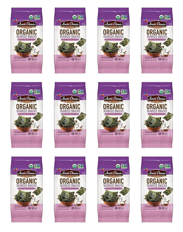 Annie Chun's Organic Seaweed, Sea Salt and Vinegar