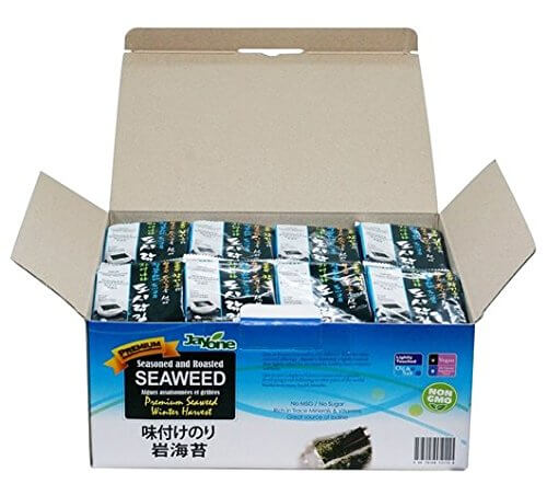 Jayone Seaweed, Roasted and Lightly Salted