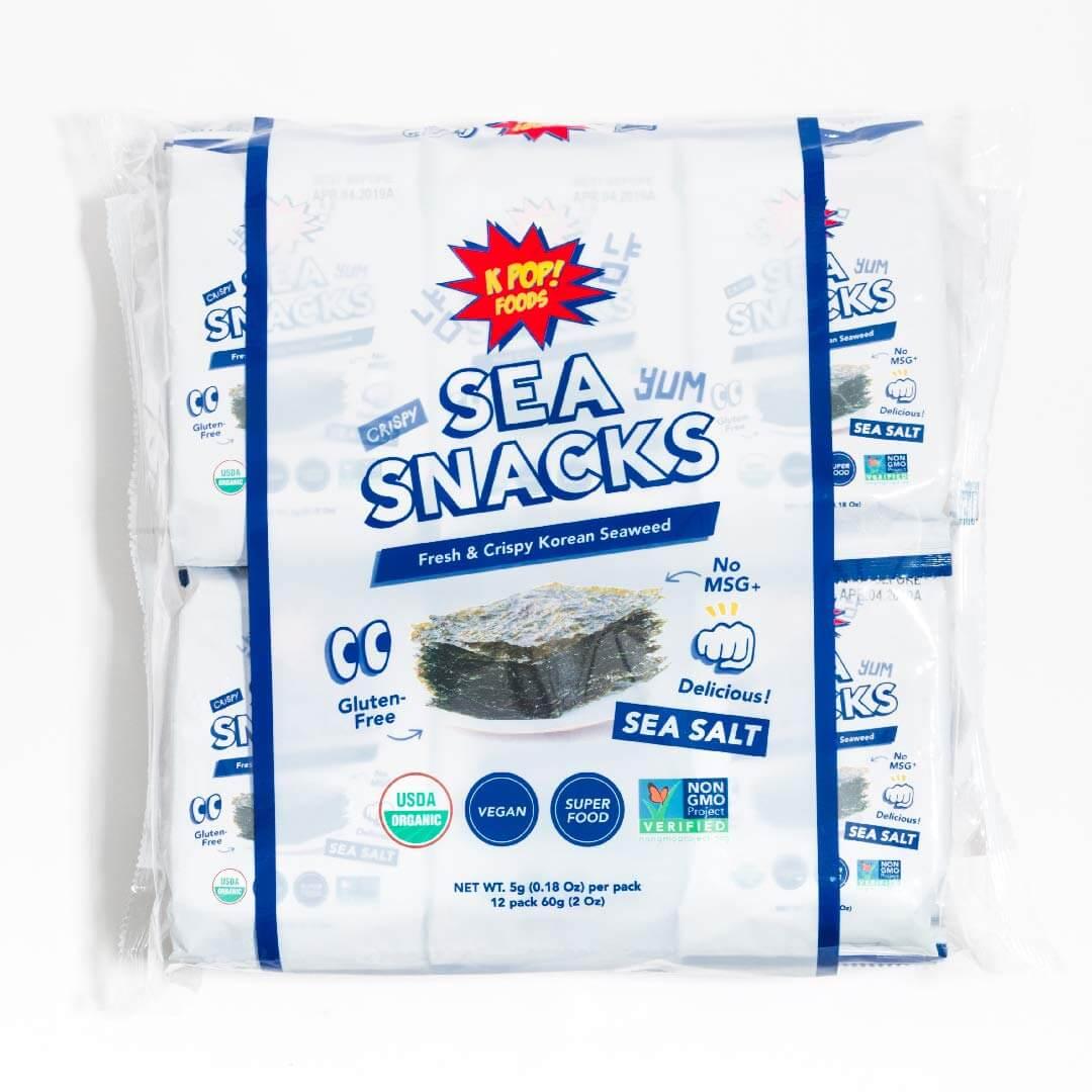KPOP Sea Snacks Premium Seaweed Snacks