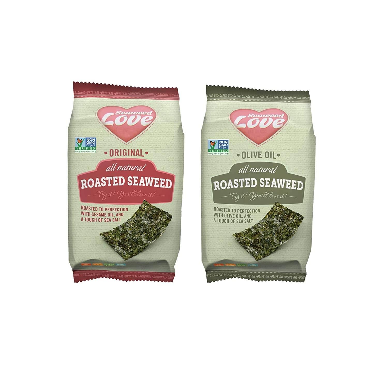 Seaweed Love All Natural Roasted Seaweed Variety Pack