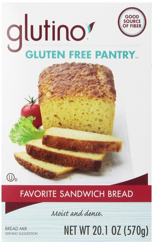 Glutino Gluten Free Pantry Favorite Sandwich Bread Mix