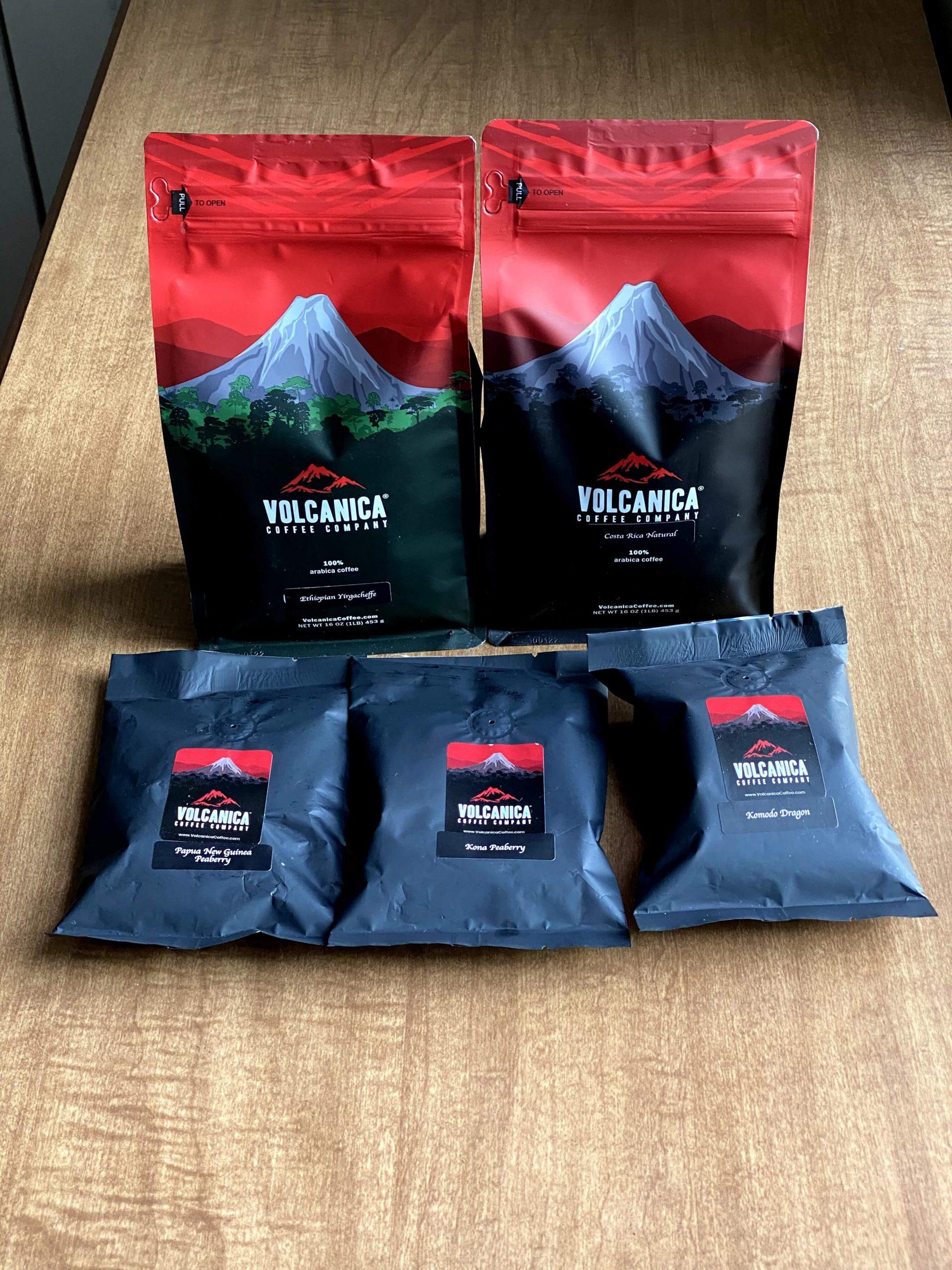 Volcanica Coffees